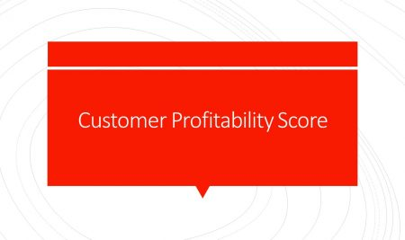 Customer Profitability Score